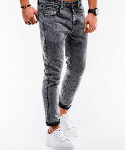 Pilki stilingi džinsai vyrams internetu pigiau P888 14664-7