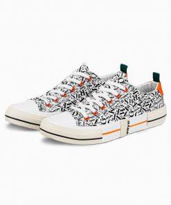Balti batai vyrams internetu pigiau T334 14666-6