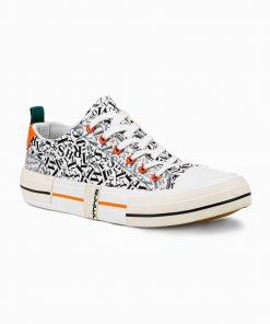 Balti laisvalaikio batai vyrams internetu pigiau T334 14666-7
