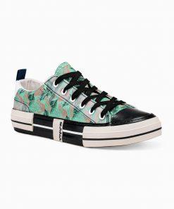 Žali laisvalaikio batai vyrams internetu pigiau T335 14668-4
