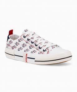 Balti laisvalaikio batai vyrams internetu pigiau T336 14670-2