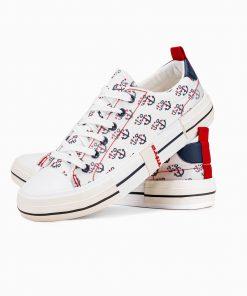 Balti slipon batai vyrams internetu pigiau T336 14670-6