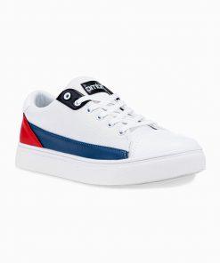 Balti laisvalaikio batai vyrams internetu pigiau T339 14671-1