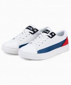 Balti batai vyrams internetu pigiau T339 14671-2
