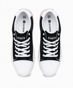 Juodi vyriski laisvalaikio batai internetu pigiau T339 14672-5