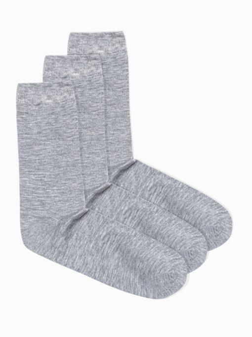 Pilkos kojinės vyrams internetu pigiau 3vnt U69 14673-1