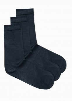 Tamsiai mėlynos kojinės vyrams internetu pigiau U69 3vnt U69 14675-1