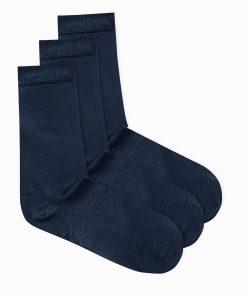 Mėlynos kojinės vyrams internetu pigiau U69 3vnt U69 14676-1