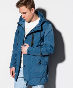 Mėlyna pavasarinė vyriška striukė internetu pigiau C440 14691-1