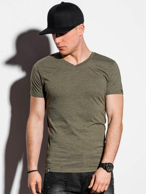 Žali-vienspalviai-vyriški-marškinėliai-internetu-pigiau-S1041-13229-3-3