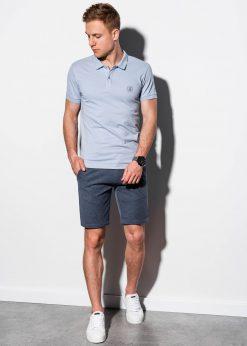 Polo marškinėliai vyrams internetu pigiau S1048 14918-1