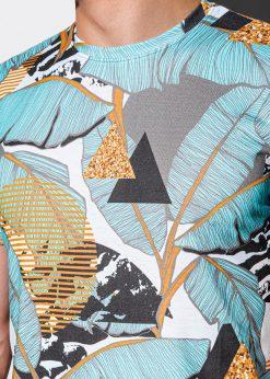 Vyriški marškinėliai su aplikacijomis internetu pigiau S1196 15081-4