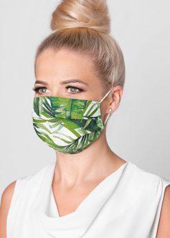 Žalia medvilninė apsauginė kaukė internetu pigiau A266 15116-1