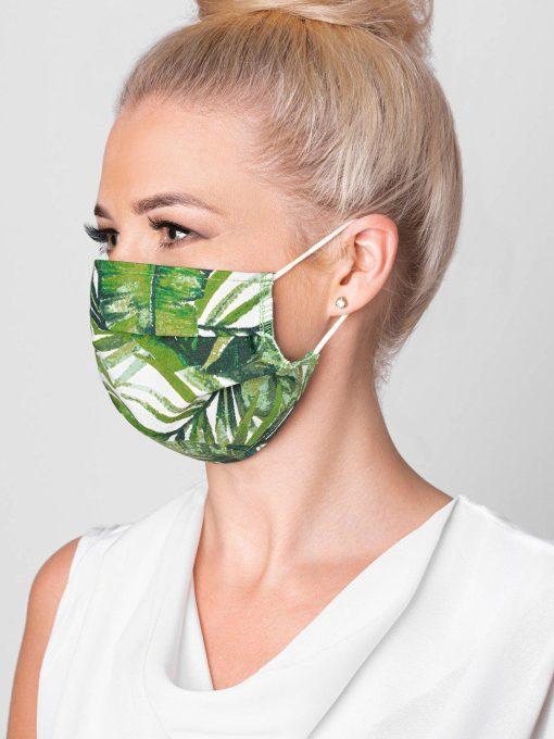 Žalia medvilninė apsauginė kaukė internetu pigiau A266 15116-2