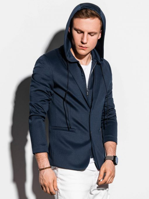 Vyriškas švarkas su gobtuvu prie džinsų internetu pigiau M156 15195-1