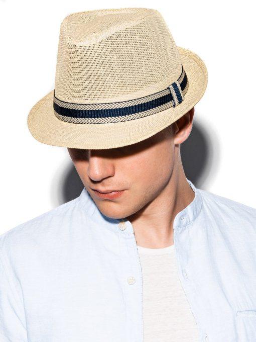 Rusva vyriška skrybėlė internetu pigiau H072 15250-1