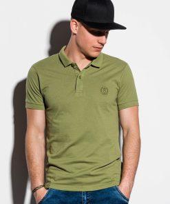 Chaki-vyriški-polo-marškinėliai-internetu pigiau-S1048-14916-3-3