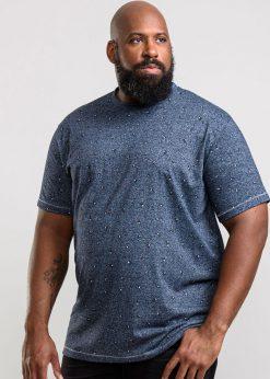 Mėlyni didelių dydžių vyriški marškinėliai internetu pigiau Coleman KS60627-1