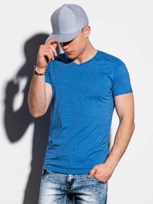 Mėlyni-vienspalviai-vyriški-marškinėliai-internetu-pigiau-S1041-13228-2-2