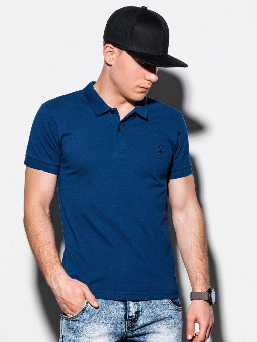 Tamsiai-mėlyni-polo-marškinėliai-vyrams-internetu-pigiau-S1048-13245-4-4