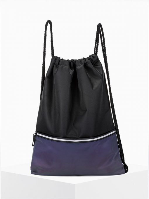 Juoda-violetinė kuprinė maišas vyrams internetu pigiau A270 15248-1