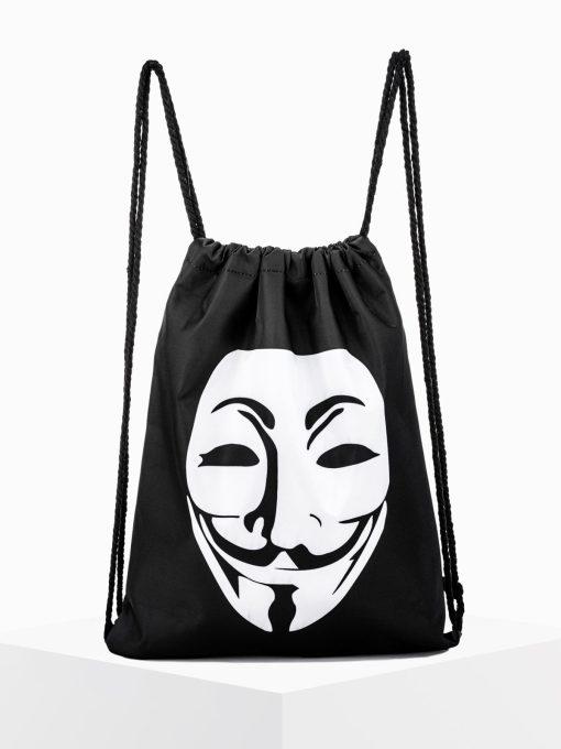 Juoda kuprinė maišas vyrams internetu pigiau A271 15152-1