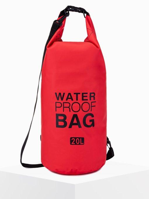 Raudonas neperšlampamas krepšys waterproof bag internetu pigiau A272 15253-1