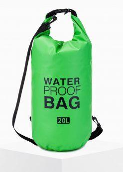 Žalias neperšlampamas krepšys waterproof bag internetu pigiau A272 15255-2