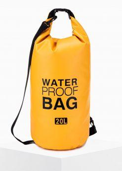 Geltonas neperšlampamas krepšys waterproof bag internetu pigiau A272 15256-1