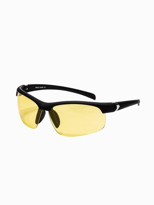 Geltoni vyriški akiniai nuo saulės internetu pigiau A281 15290-1