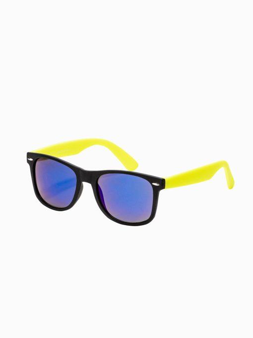 Geltoni vyriški akiniai nuo saulės internetu pigiau A282 15291-1