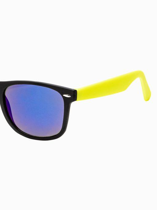 Geltoni vyriški akiniai nuo saulės internetu pigiau A282 15291-2