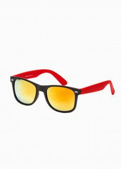 Raudoni vyriški akiniai nuo saulės internetu pigiau A282 15296-1