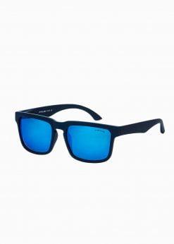 Tamsiai mėlyni vyriški akiniai nuo saulės internetu pigiau A284 15299-1