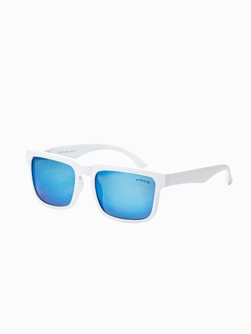 Balti vyriški akiniai nuo saulės internetu pigiau A284 15300-1