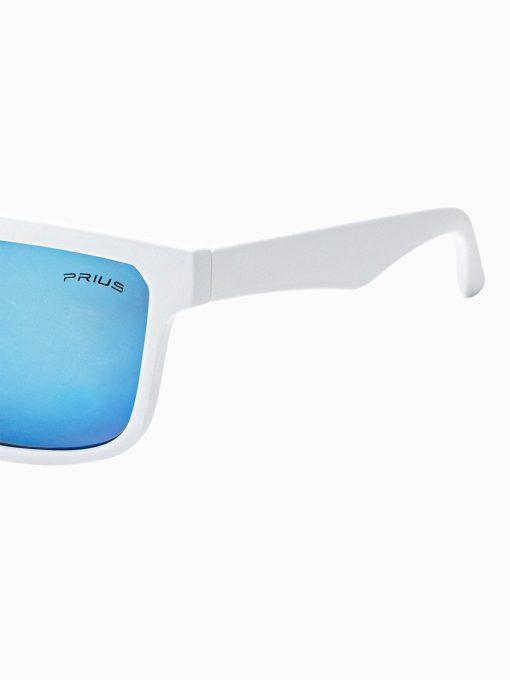 Balti vyriški akiniai nuo saulės internetu pigiau A284 15300-2
