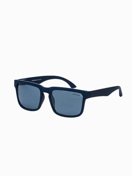Tamsiai mėlyni vyriški akiniai nuo saulės internetu pigiau A285 15301-1