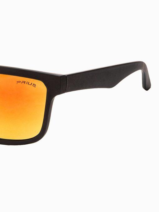 Juodi vyriški akiniai nuo saulės internetu pigiau A286 15303-2
