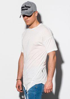 Rusvi asimetriški vyriški marškinėliai internetu pigiau S1216 15458-1