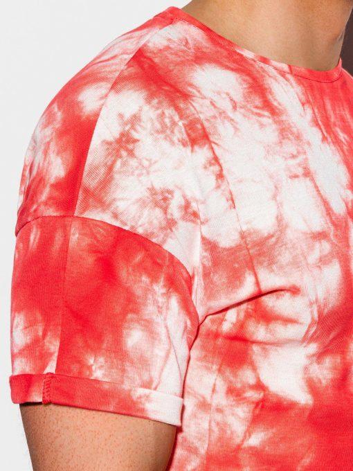 Raudoni vyriski marskineliai internetu pigiau S1219 15460-1