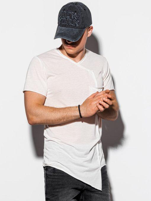Asimetriški marškinėliai vyrams internetu pigiau S1215 15525-5