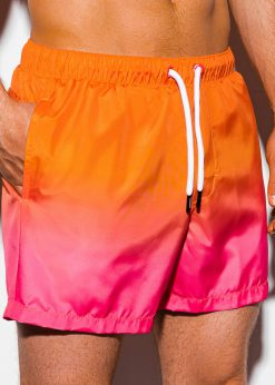 Oranžiniai paplūdimio šortai vyrams internetu pigiau W250 15577-1