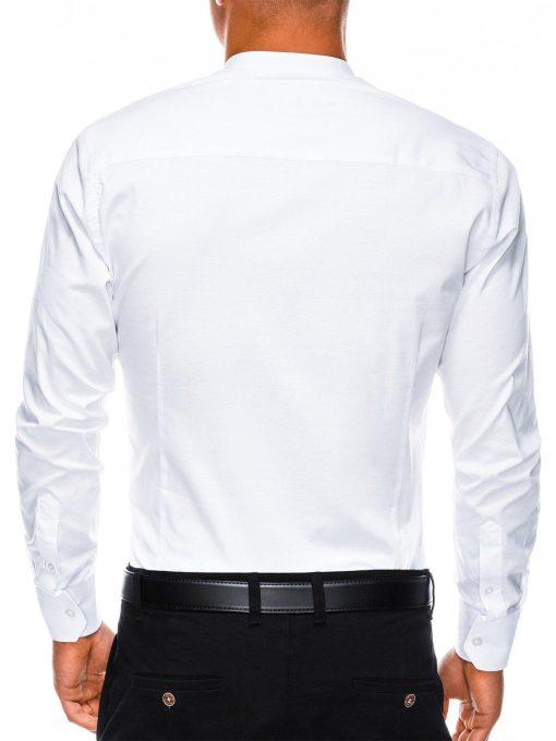 Balti marskiniai vyrams ilgomis rankovemis internetu pigiau K307 2859-4