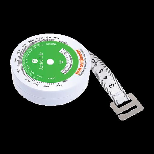 Matavimo juostelė su kūno masės indeksu tiande 90176_1