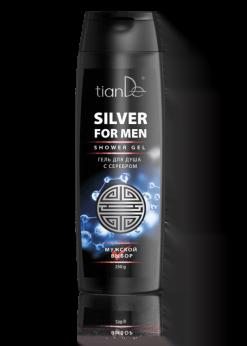 Vyriškas dušo gelis su sidabru TianDe 250g 30133_1