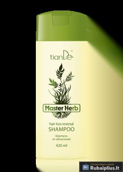 Vyriškas šampūnas nuo plikimo Master Herb tiande 420ml 21310_1