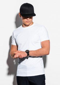 Balti vyriški marškinėliai internetu pigiau S884 15903-1