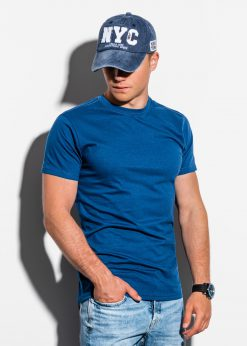 Vienspalviai vyriški marškinėliai internetu pigiau S884 15912-1