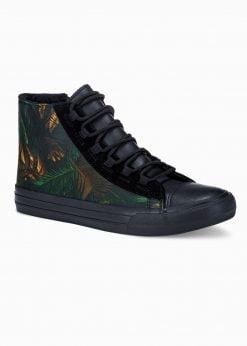Chaki-tamsiai mėlyni laisvalaikio batai vyrams internetu pigiau T347 16011-1