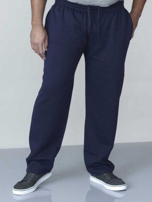 Didelių dydžių sportinės kelnės vyrams Albert tamsiai mėlynos KS1418-1